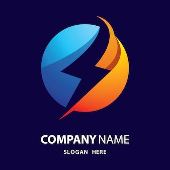 Logotipo de relámpago