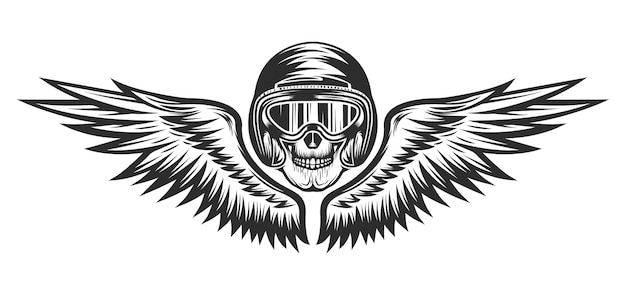 Logotipo de reparación de motocicletas vintage