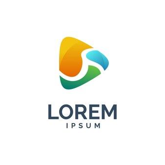 Logotipo de reproducción de medios
