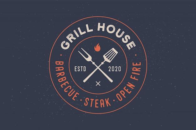 Logotipo para el restaurante grill house
