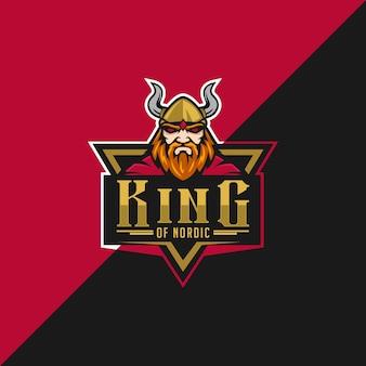 Logotipo del rey de los países nórdicos