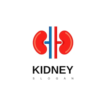 Logotipo de riñón, inspiración para el diseño de logotipos de urología