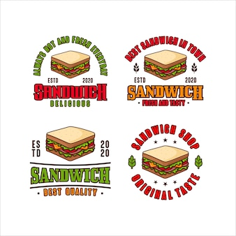 Logotipo de sandwich