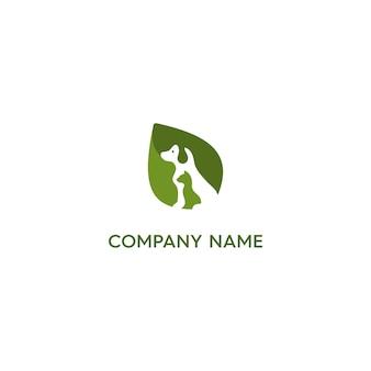 Logotipo sano para mascotas