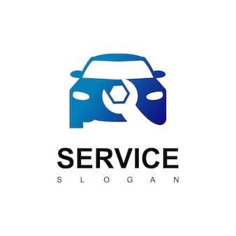 Logotipo de servicio de coche