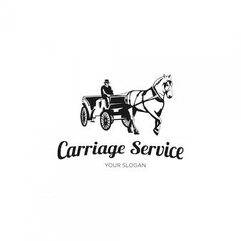 Logotipo de servicio de transporte
