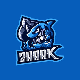 Logotipo de shark esport