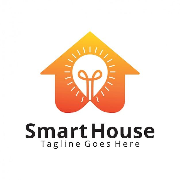 Logotipo de smart home