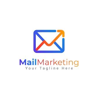 Logotipo del sobre del correo