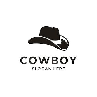 Logotipo de sombrero de vaquero