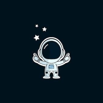 Logotipo de spaceman