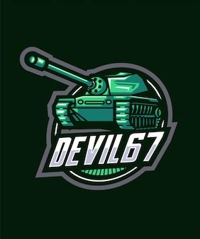 Logotipo de tank sports