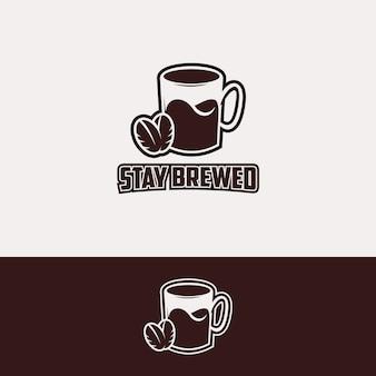 Logotipo de la taza de café logotipo