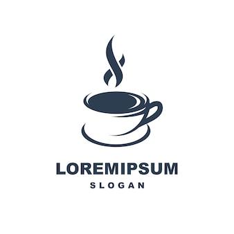 Logotipo de la taza de café