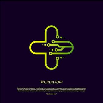 Logotipo de tecnología médica