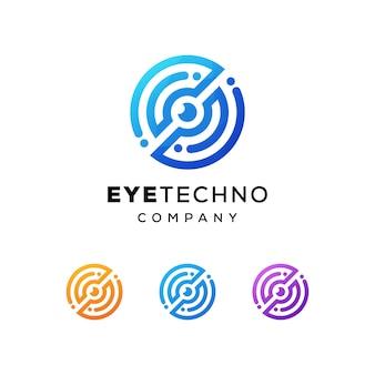 Logotipo de tecnología ocular