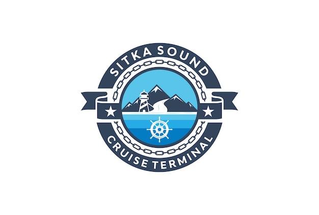 Logotipo de la terminal de cruceros