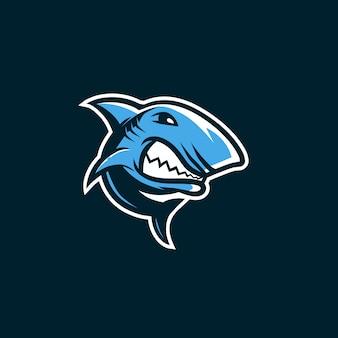 Logotipo de tiburón esport