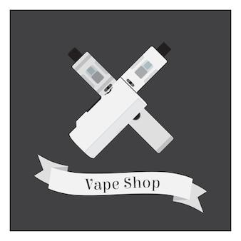 Logotipo de la tienda de vape