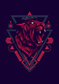 Logotipo de tiger esport