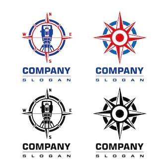 Logotipo de topógrafo