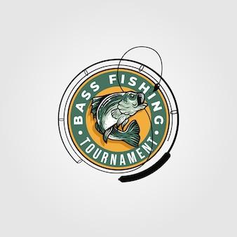 Logotipo del torneo de pesca de lubina
