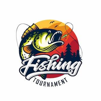 Logotipo del torneo de pesca