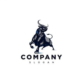 Logotipo de toro fuerte