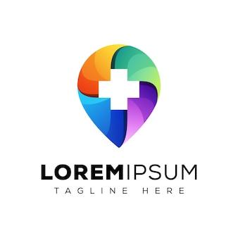Logotipo de ubicación del hospital