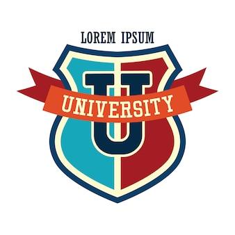 Logotipo de la universidad / campus