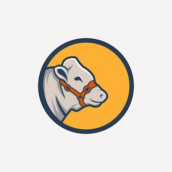Logotipo de vaca
