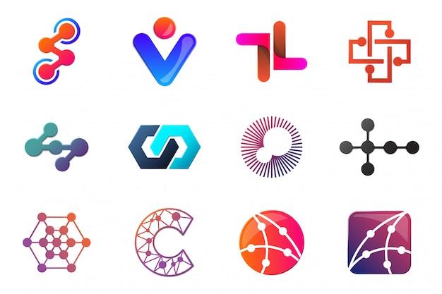 Logotipo de vector mínimo moderno para banner