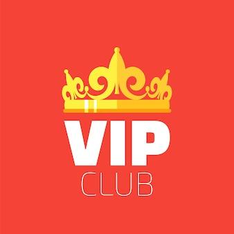 Logotipo de vip club
