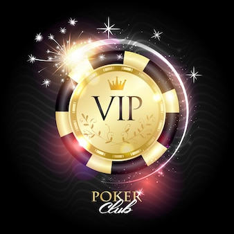 Logotipo de vip poker club