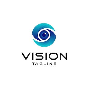 Logotipo de visión moderna