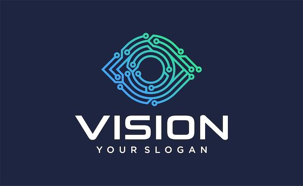 Logotipo de vision tech