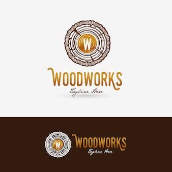 Logotipo de woodworks