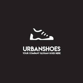 Logotipo de zapatos urbanos