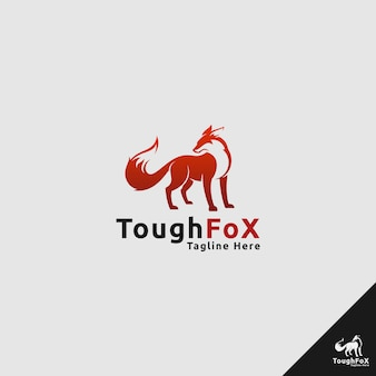 Logotipo de zorro