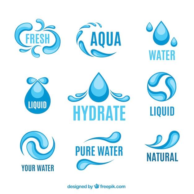 Logotipos agua