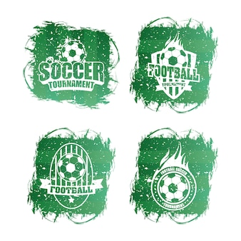 Logotipos deportivos de fútbol soccer