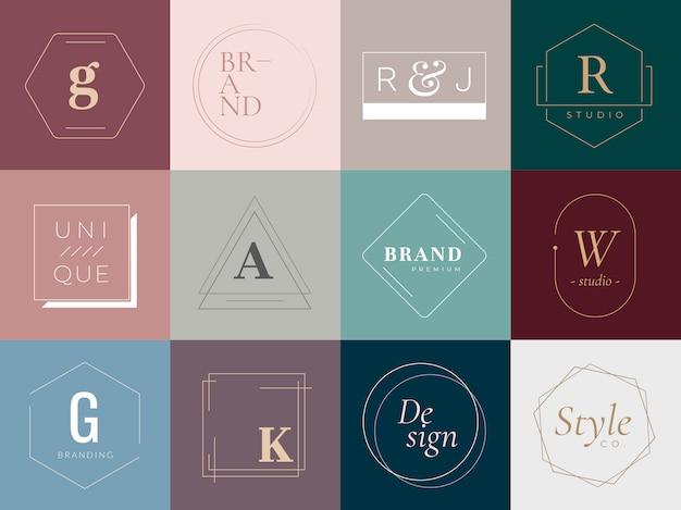 Logotipos y distintivos