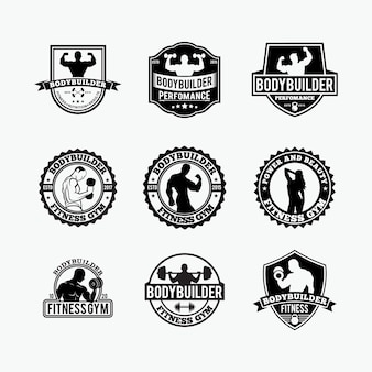 Logotipos de fitness gym