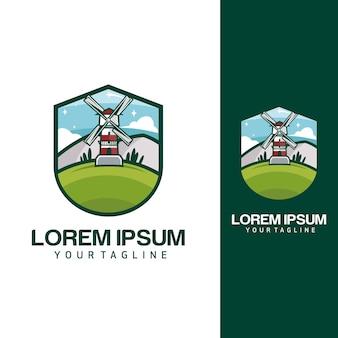 Logotipos de molinos de viento