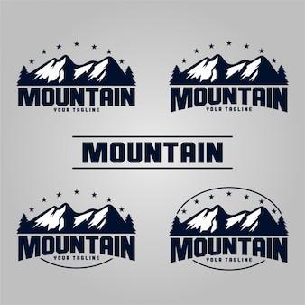 Logotipos de montaña