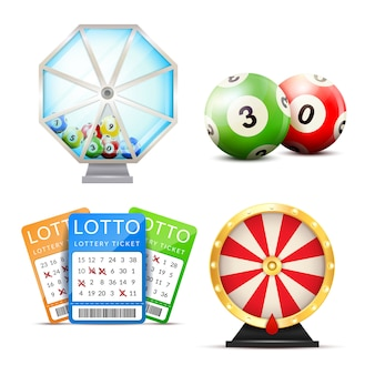 Lotería realista accesorios set
