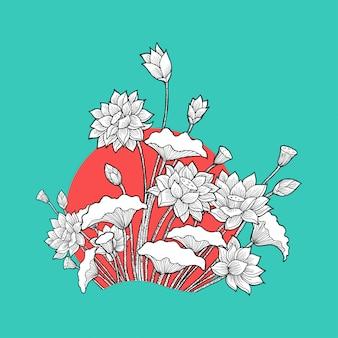 Loto floral