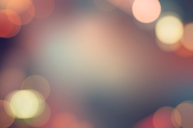 Luces borrosas festivas