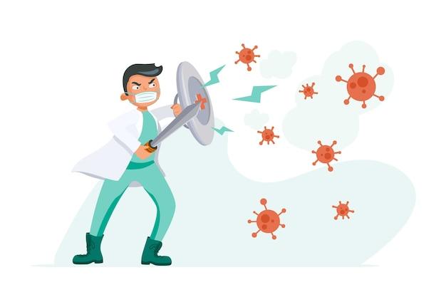 Lucha contra el concepto de virus