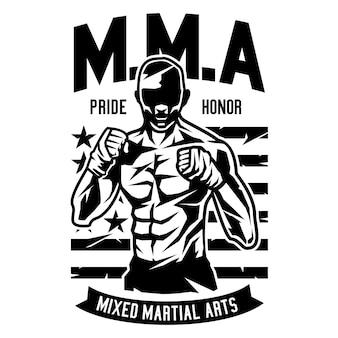 Luchador de mma